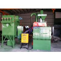 Buy cheap Tracked Wheel Shot Blasting Machine With PLC Control System Rust Removing product