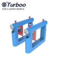 Quality 1.2mm Metal Swing Gate Turnstile For Kindergarten Safety Access Control wholesale