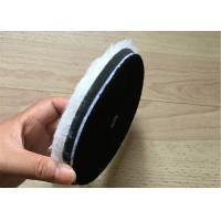 Quality Single Side Wool Cleaning Foam Buffing Pads Wear Resistant For Car And Glass wholesale