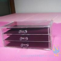 Quality acrylic cosmetic organizer wholesale