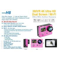 Quality Factory price newest camcorder HD Sony sensor 4k camera H8 remote control sports digi cam wholesale