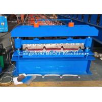 Quality Electric 3KW Power Roofing Sheet Roof Roll Forming Machine / Production Line wholesale