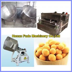 China Flour coated peanut processing equipment, japanese bean machine on sale