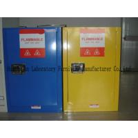 Quality Non - Riveting Flammable Safety Storage Cabinets With Striking Reflective Labels wholesale