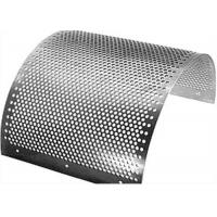 China 2mm Perforated Stainless Steel Mesh Sheet Round Hole Punched Openings on sale