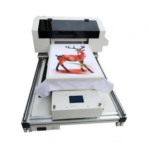 China A3 Flatbed Printer A3 Dtg Printer For T Shirt For Canvas Shoes Bag T-shirt Printing Machine on sale