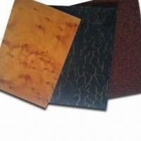 China HPL-coated MGO Boards, Decorative and Fireproof, Heat Preservation/Sound Insulation, Eco-friendly on sale