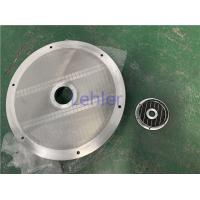 China DIA 790MM End Cover Basket Mill Screen For Mixer / Dispersion Equipment on sale
