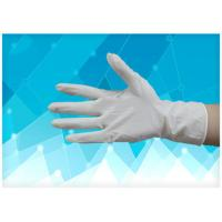 China Tear Resistance Disposable Medical Gloves , Medical Latex Gloves With CE Approval on sale