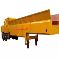 Quality Mobile Wood Shredder Wood Chip Crusher With Diesel Engine for  Industrial usage wholesale