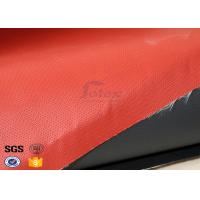 Cheap Recycle Silicone Impregnated Fiberglass Cloth For Heat Protection Fireproof for sale