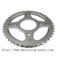 Buy cheap Non - Standard Agricultural Chain Sprocket Wheel Simplex / Duplex / Triplex Plate Wheels product