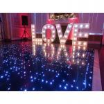 Quality High Quality White Led Dance Floor 12v led dance floor interactive led portable led dance floors for sale wholesale