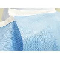Cheap Compressed SMMS Sterile Disposable Surgical Gown For Operation Room Alcohol for sale