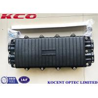 Quality KCO-H44280 288 Cores Optical Fiber Splice Closure Joint Box 8 Ports 4in 4out PC Material wholesale