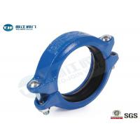 China Ductile Iron Grooved Pipe Coupling DN20 - DN300 For Building Pipeline on sale