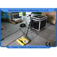 Quality UVIS Moveable Under Vehicle Inspection System Capture Car Number / Drive Face wholesale