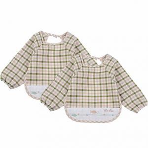 Quality Soft Absorbent Baby Bandana Bib , 100% Organic Cotton Baby Coverall Bib wholesale