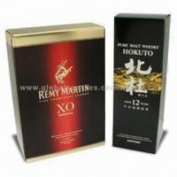 Quality Wine Packaging Boxes, Customized Designs and Specifications are Welcome wholesale
