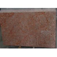Quality Rose Red Marble Tile , Decorative Natural Agate Floor Tiles Dolomite Type wholesale