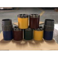 Quality High Precision Rock Drilling Tools 6 Inch Diamond Core Drill Bit For Hard Rock wholesale