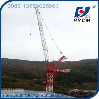 Quality Design for Korean customers 25m Boom Length 6.0ton Max. Load Luffing Jib Tower Crane wholesale