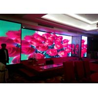 China 2.5Mm 1R1G1B Advertising Indoor Full Color Led Display Wall 1/16 Scanning on sale