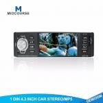 Quality Black 1 Din Car Stereo / Single Din Navigation Unit 12 Months Warranty wholesale