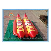Quality Floating Inflatable Fishing Boat, Inflatable Banana Boat for Water Park wholesale