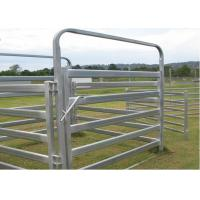 Quality Heavy Duty Galvanized Cattle Yard Horse Fence Panel Gate Line Post 50MM wholesale