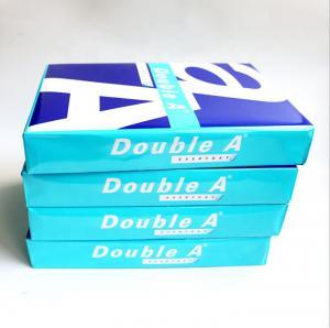 Quality Double A Highest Super White 70 80 GSM Double A A4 Paper Copy Paper wholesale