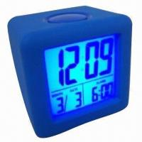 Quality Silicone Cover Alarm Clock, Suitable for Gift wholesale