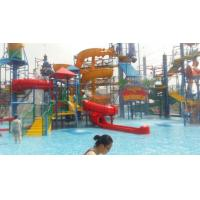 Quality Wizard Paradise 304 Stainless Steel Water Park Playground 45 * 40 M For Kids wholesale