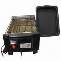 China Electric Barbecue Grill with Frequency of 50Hz, 700W Power, Fast Grilling and Easy to Clean on sale