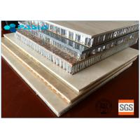 Buy cheap Light Weight High Strength Long Duration Stone Honeycomb Panel For Wall Decoration from wholesalers