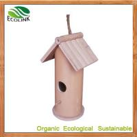 Quality Chinese Custom Designer 100% Natural Bamboo Pet House for Bird and Eco Garden Products wholesale