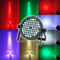 Quality Cool White 54pcs*3W RGBW Plastic Material LED Par Can Lights 1 year Warranty wholesale