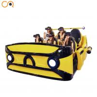 Buy cheap AC110 - 240V 9D VR Cinema , Shopping Mall Amusement Game Machine from wholesalers