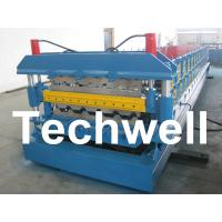 Quality Automatic PLC Control Dual Level Roll Forming Machine With Manual / Automatic Decoiler wholesale