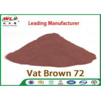 Quality C I Vat Brown 72 Brown GG Chemical Dyes Used In Textile Industry 100% Strength wholesale