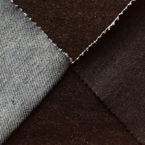 China black winter knit denim fabric on sale