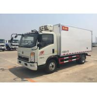 Quality Euro 2 5 Ton Refrigerated Truck For Frozen Foods Transporting XL-300  -18 Degree wholesale