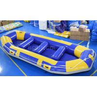 Quality River Inflatable Rafting Boat / Inflatable Drift Boat wholesale