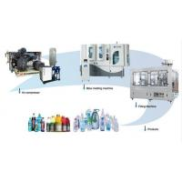 China Fully Automatic Rotary Blow Molding Machine Small Space Electric Motor on sale