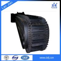 China supplier high quality 90 degree rubber nylon conveyor belt for sale
