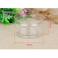 China Tea Packaging Clear Plastic Cylinder Plastic Cylinder Containers With Lids on sale