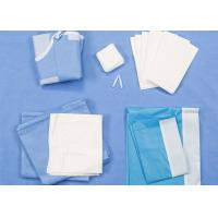 Quality Universal Size Disposable Surgical Packs Delivery Baby Birth Kit SMS / Two Layers Lamination wholesale