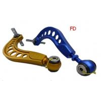 Quality Adjustable Civic 06 Fd / Si 6061  Bend Rear Lower Control Arms / Rear Camber Kit wholesale