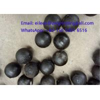 Quality High Chrome Cr 10% Cast Iron Steeel Balls for mining grinding wholesale