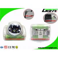 Quality Hard PC Material Cordless Mining Lights 13000 Lux High Power Helmet Lamp 1.78W wholesale